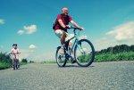 rowerzysta, rower